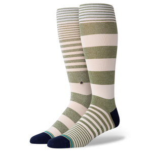 Stance Socks POWER FLOWER Army Green