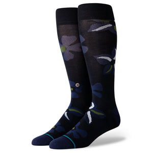 Stance Socks SONIC BLOOM Black