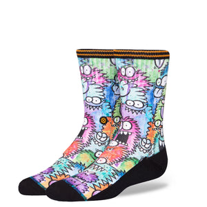 STANCE KEVIN LYONS MONSTER PARTY BOYS SOCKS