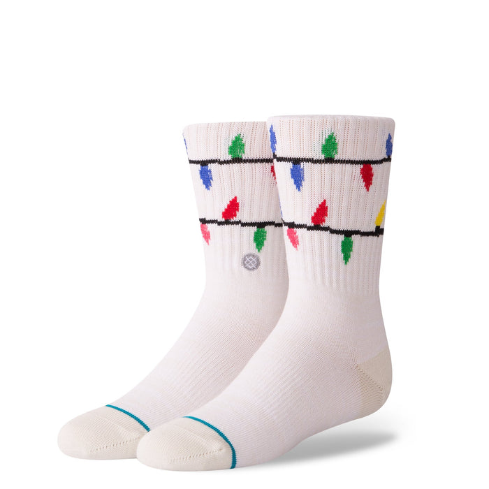 Stance Kids Socks It's Snow Lit Boys White