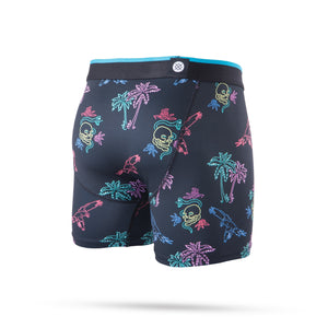 Stance Underwear Neon Tropics Boxer Brief Boys Black