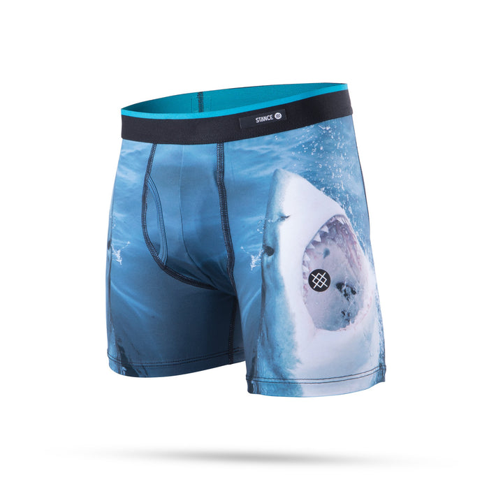 Stance Kids Underwear Bys Shark Tooth Boxer Brief Navy