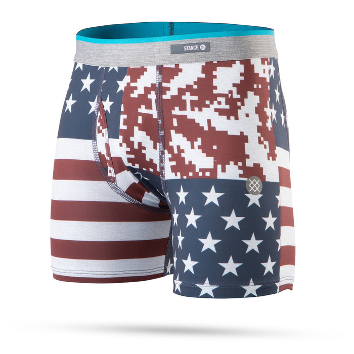 Stance Kids Underwear Digi Camo Flag Boxer Brief Red