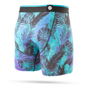 Stance Kids Underwear Palm Night Boxer Brief Boys Blue