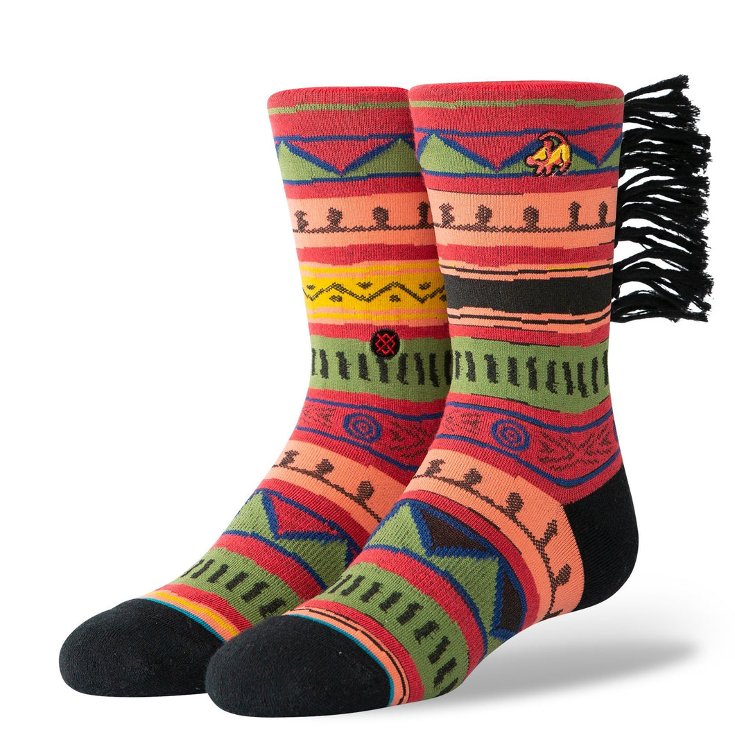 Stance Kids Socks Simba Red