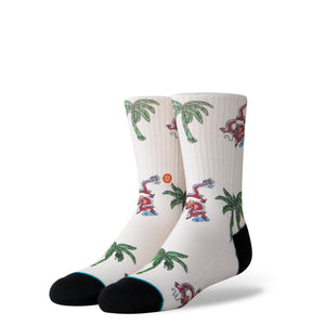 Stance Kids Socks Skating Dragons Cream