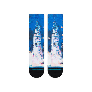 Stance Socks Blasting Off Black