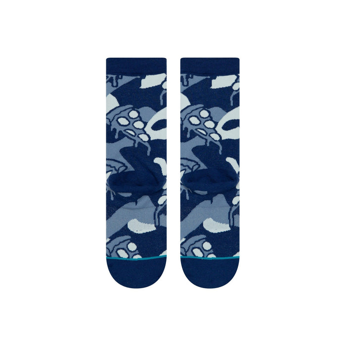 Stance Kids Socks Pisa Pizza Blue