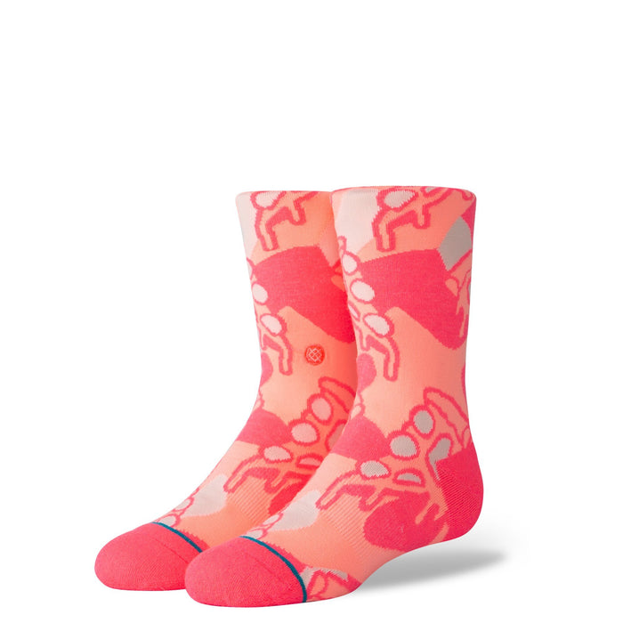 Stance Kids Socks Pisa Pizza Pink