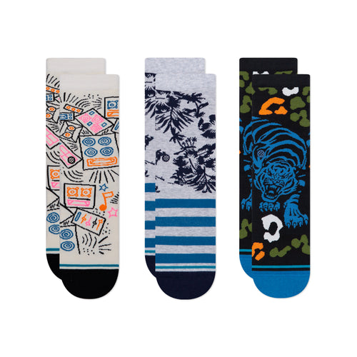 Stance Harbor Kids 3 Pack Kids Multi