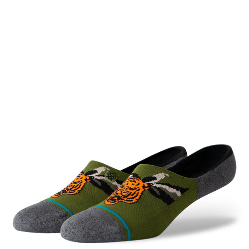 Stance Socks BIG CAT Green
