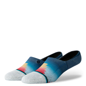 Stance Super Invisible Socks Glass Beach Low Multi
