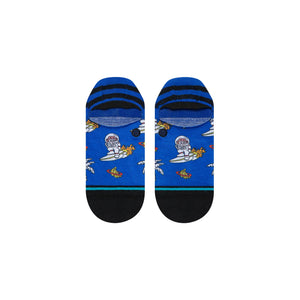 Stance Socks Space Monkey Low Blue