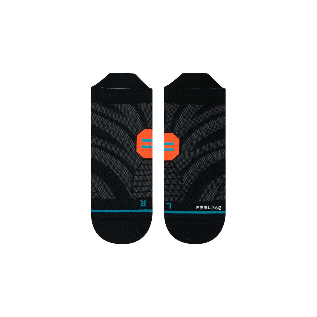Stance Socks Uncommon Lite Run Tab Black