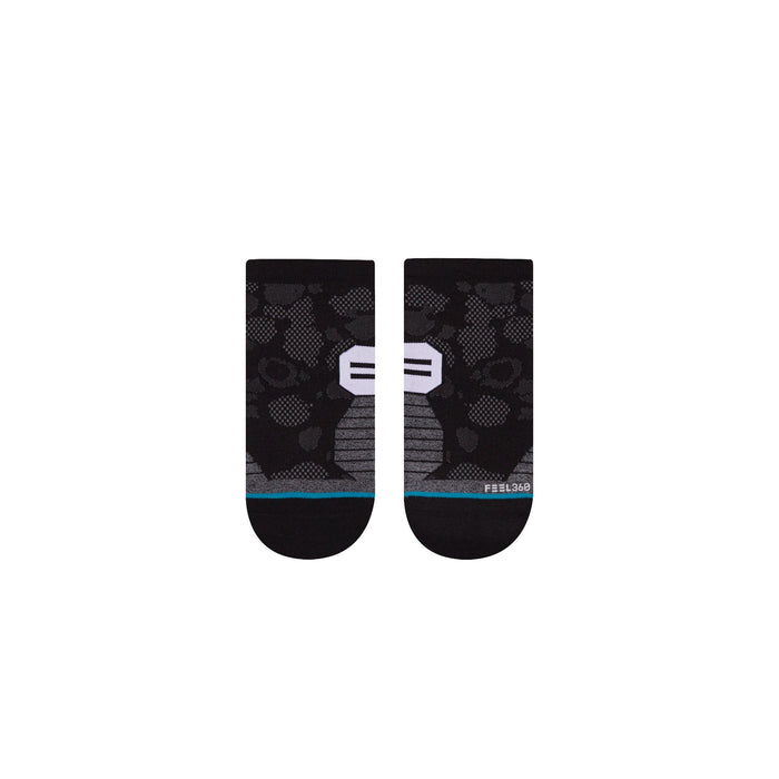 Stance Socks Mens Run Timeframe Tab Low Black
