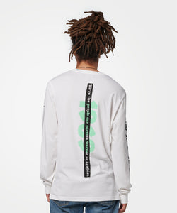 Stance T-Shirts DECADE LONG SLEEVE White