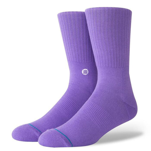 Stance Socks Icon Violet