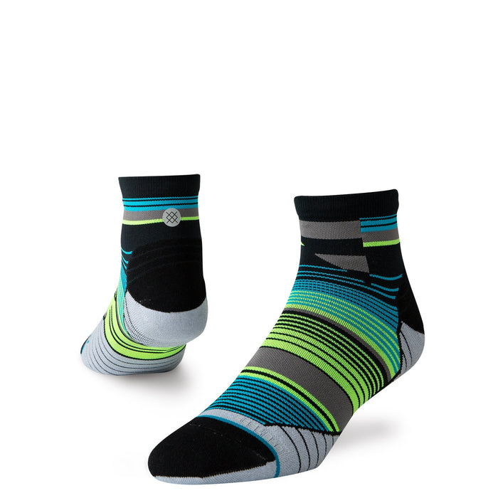 Stance Cycling Socks Wheelie Quarter Black