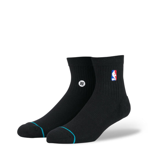 Stance Socks Nba Logoman Quarter Black