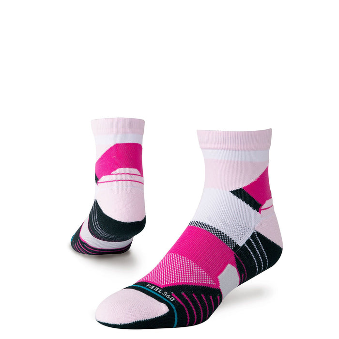 Stance Socks Mens Golf Shortshot Quarter Pink