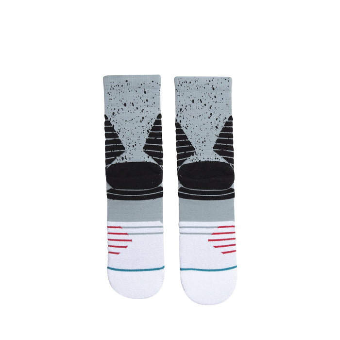 Stance Basketball Socks 1988 Feel 360 Crew Grey