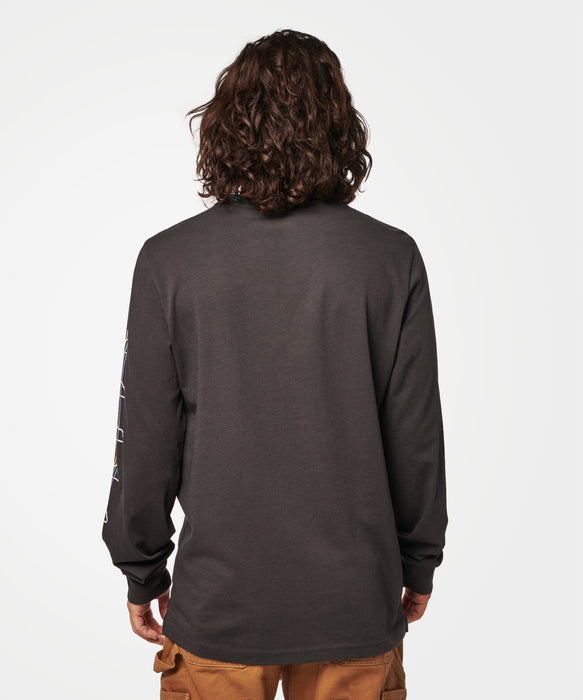 Stance T-shirts Thermal Long Sleeve Black