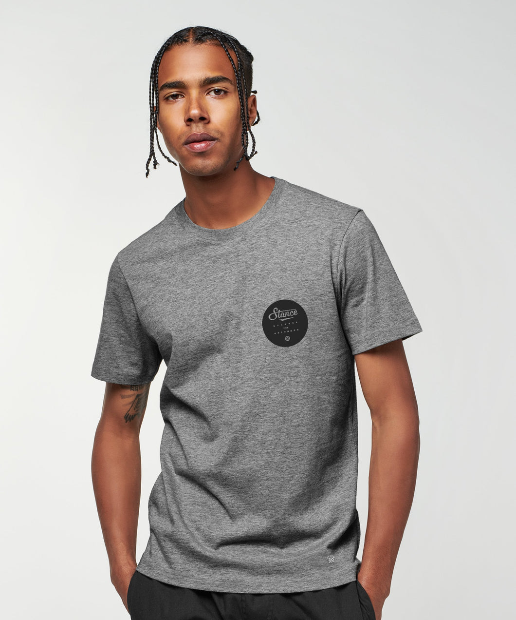 Stance T-shirts Pacer Dark grey heather