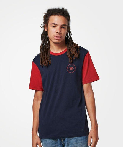 Stance T-Shirts YANG TIME T Navy