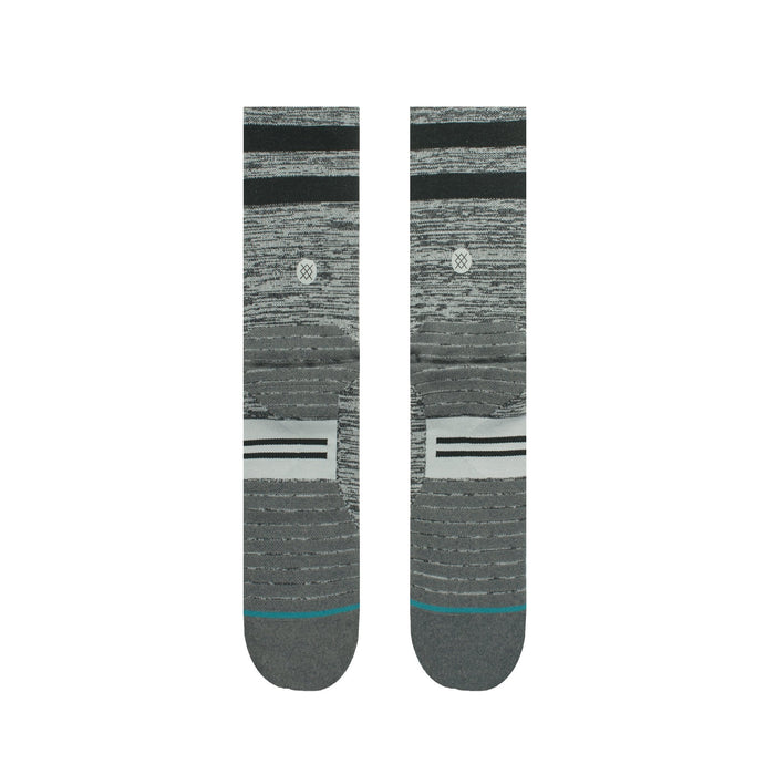 STANCE SOCKS UNCOMMON SOLIDS CREW SOCK CHARCOAL