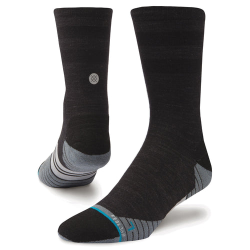 Stance Socks BIKE SOLID WOOL CREW Charcoal