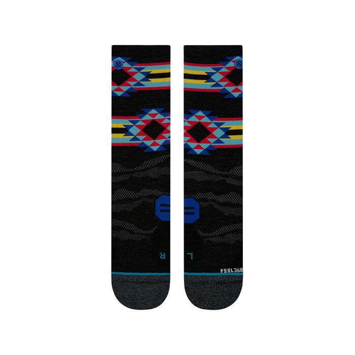 Stance Hiking Socks Fault Ridge Lite Black