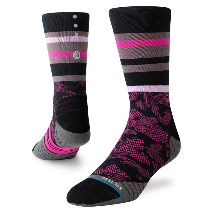 Stance Cycling Socks Trackstand Crew Black
