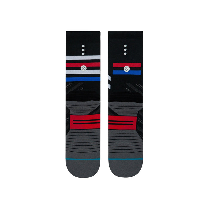 Stance Cycling Socks Travel Crew Black