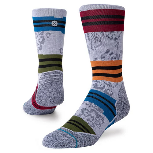 Stance Flora Crew Cycling Mens Grey