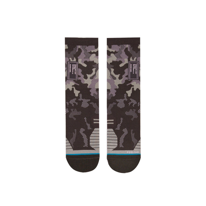 Stance Running Socks Serve Crew Olive
