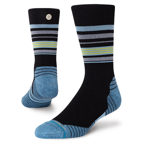 Stance Socks BLACK SHEEP CREW Black