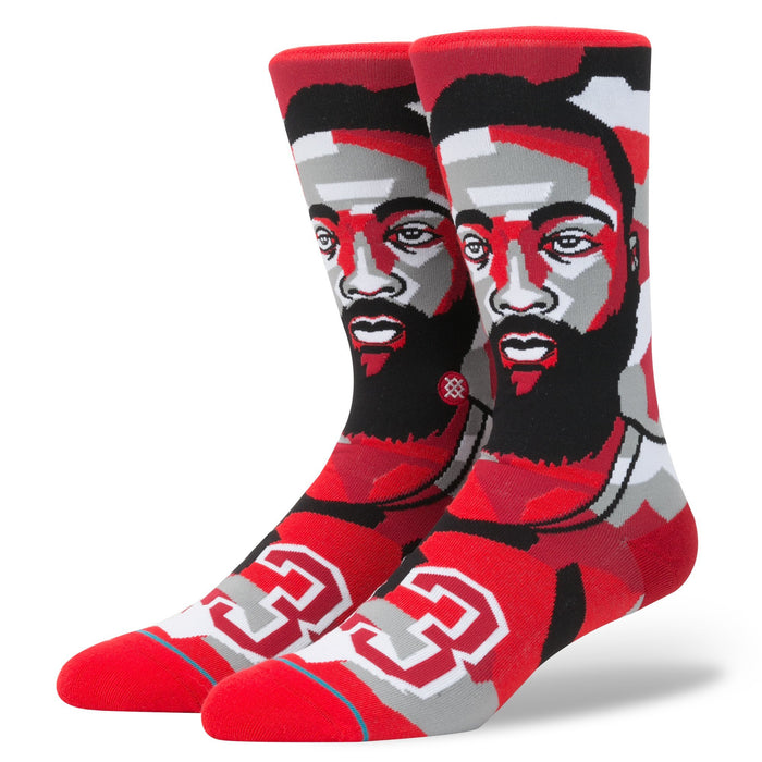 Stance Socks Mosaic Harden Red