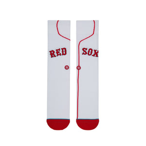 Stance Socks Red Sox Home White