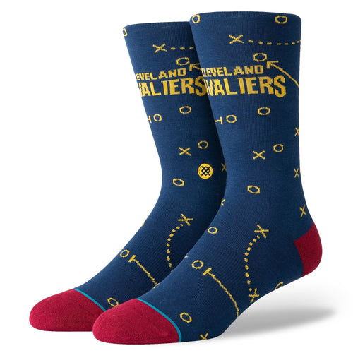 Stance Socks CAVALIERS PLAYBOOK Navy