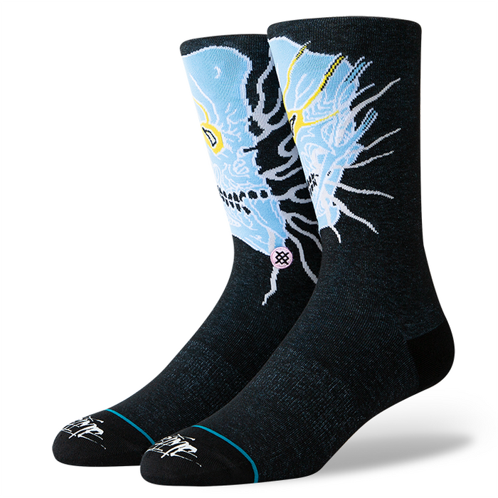 Stance Socks Grime Black