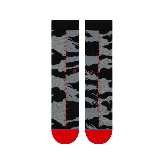 Stance Socks Hard Way Grey