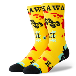 Stance Socks Hawaii Chain Oblow Yellow