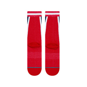 Stance Basketball Socks Rockets HWC Warmup Red