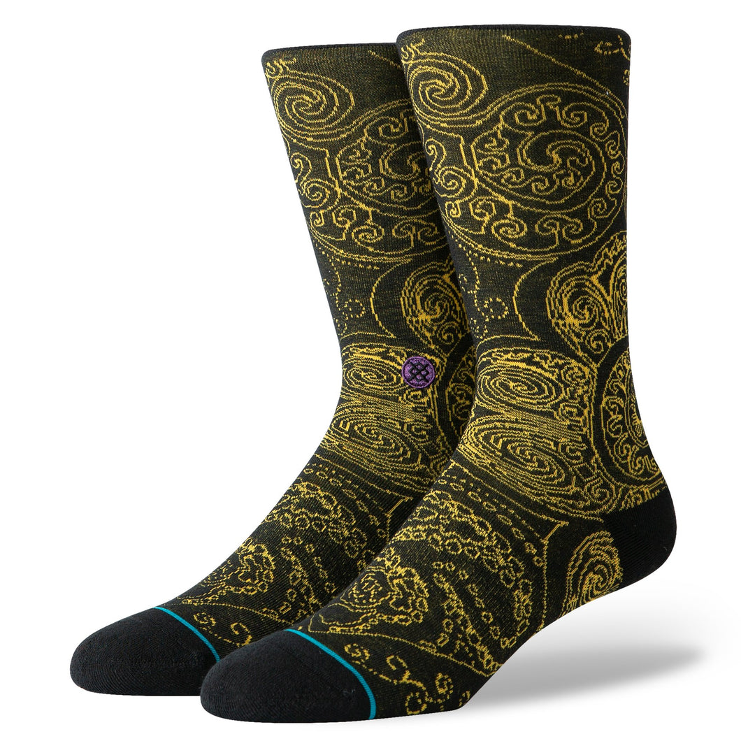 Stance Socks Anthem Verdana Black