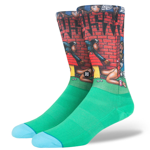 Stance Socks Doggy Style Green