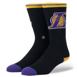 Stance Lakers Jersey Black