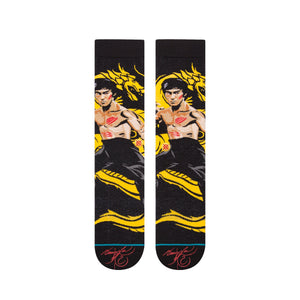 Stance Socks Bruce Lee Dragon Black