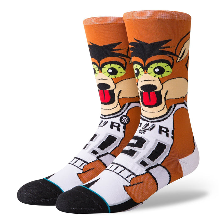 Stance NBA Socks Spurs Coyote Brown