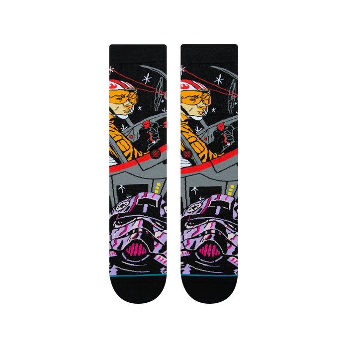 Stance Star Wars Socks Warped Pilot Black