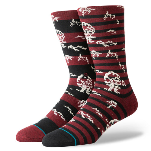 Stance Socks Atomic Lightning Red